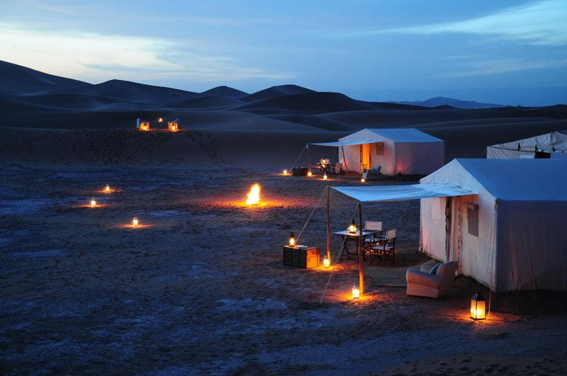 Azalai Luxury Desert Camp at Chegaga Dunes