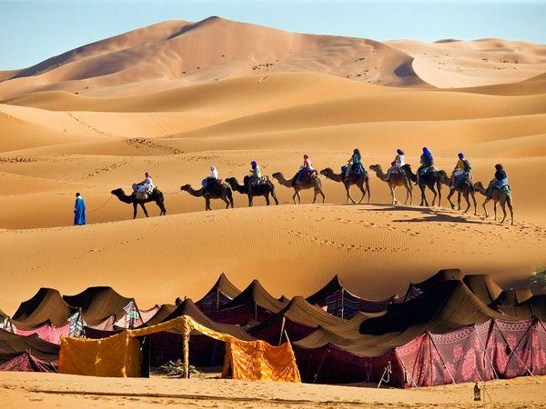 Marrakech, Draa Valley and Chegaga dunes  in 3 Days